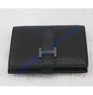 Hermes Bearn Mini Wallet HW109 black