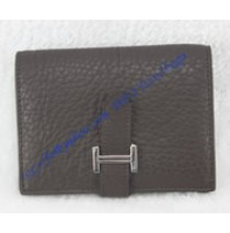 Hermes Bearn Mini Wallet HW109 coffee