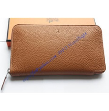 Hermes Azap long wallet HW309 light brown