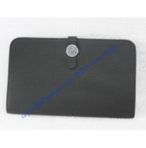 Hermes Dogon Combined Wallet HW508 black