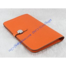 Hermes Dogon Combined Wallet HW508 orange