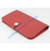 Hermes Dogon Combined Wallet HW508 red