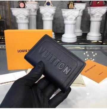 Louis Vuitton Dark Infinity Leather Pocket Organizer M63251