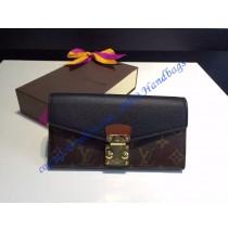 Louis Vuitton Pallas Wallet Black