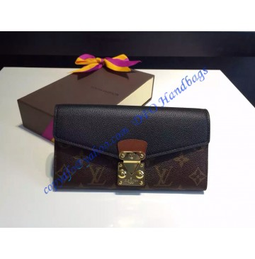 Louis Vuitton Pallas Wallet Black