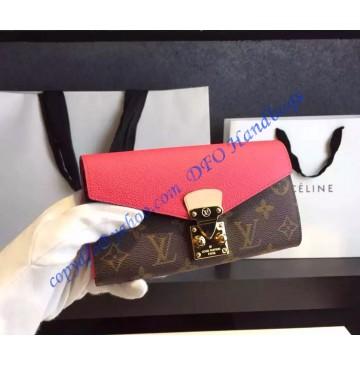 Louis Vuitton Pallas Wallet Lippie Pink