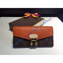 Louis Vuitton Pallas Wallet Orange
