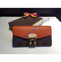 Louis Vuitton Pallas Wallet Orange