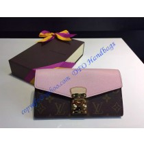 Louis Vuitton Pallas Wallet Pink