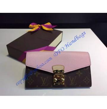 Louis Vuitton Pallas Wallet Pink