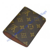 Louis Vuitton Monogram Canvas James Wallet M60251