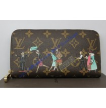 Louis Vuitton Monogram Canvas Zippy Wallet Illustre M60291