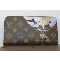 Louis Vuitton Monogram Canvas Zippy Wallet Illustre M60292