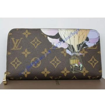 Louis Vuitton Monogram Canvas Zippy Wallet Illustre M60292