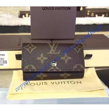 Louis Vuitton Monogram 6 Key Holder M62630