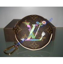Louis Vuitton MOCA MURAKAMI coin purse M95563