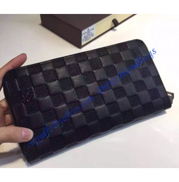 Louis Vuitton Damier Infini Leather Porte-monnaie zippe
