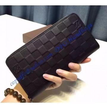 Louis Vuitton Damier Infini Leather Zippy Wallet