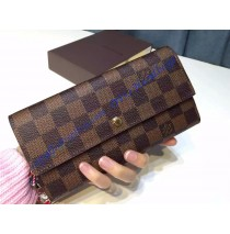 Louis Vuitton Damier Ebene Old Sarah Wallet