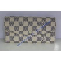 Louis Vuitton Damier Azur Emilie wallet N63021
