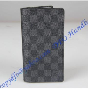 Louis Vuitton Damier Graphite Columbus Wallet N63116