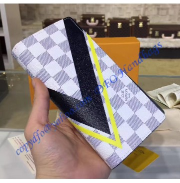 Louis Vuitton Damier Azur Brazza Wallet