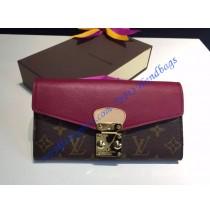 Louis Vuitton Pallas Wallet Rose