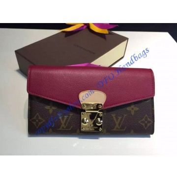 Louis Vuitton Pallas Wallet Rose