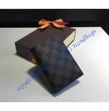 Louis Vuitton Damier Graphite Canvas James Wallet N63117
