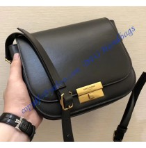 Saint Laurent Betty Satchel in Smooth Leather Black