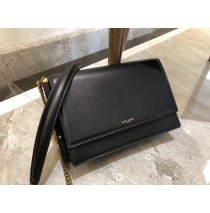 Saint Laurent Zoe Bag in Black Leather