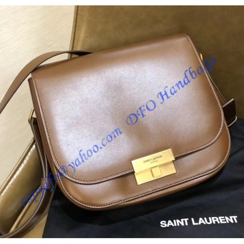 d05274f759 Saint Laurent Betty Satchel in Smooth Leather Caramel. Loading zoom