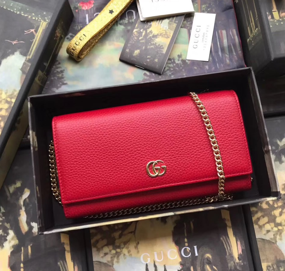 00eab15318cb GU546585-red-gucci-gg-marmont-leather-chain-wallet.JPG