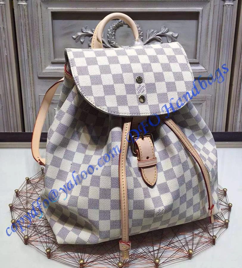 Louis Vuitton Damier Azur Sperone Backpack N41578