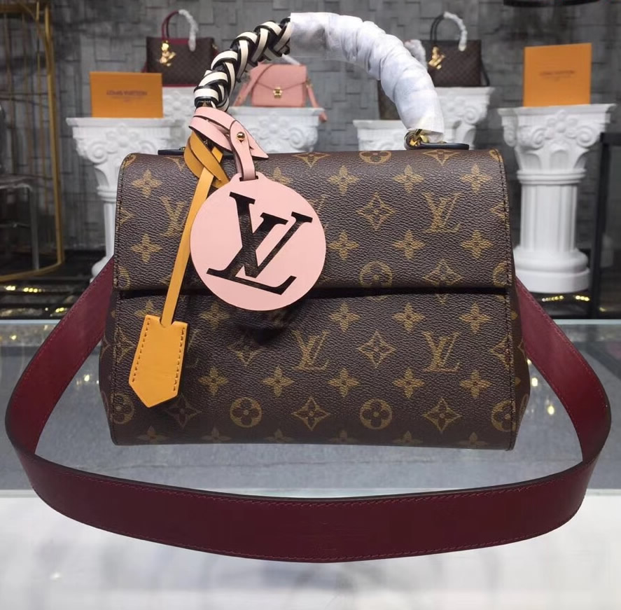 Louis Vuitton Monogram Canvas Cluny Bb M43982