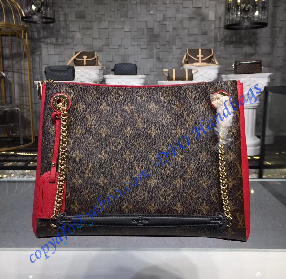 91f24866a4 Louis Vuitton Monogram Canvas Surene MM Cherry M43773