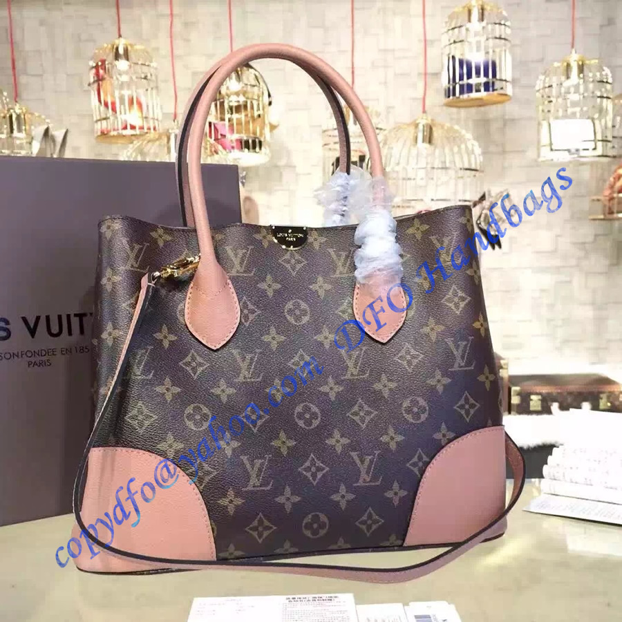 Louis Vuitton Flandrin With Pink Leather Trim Luxtime