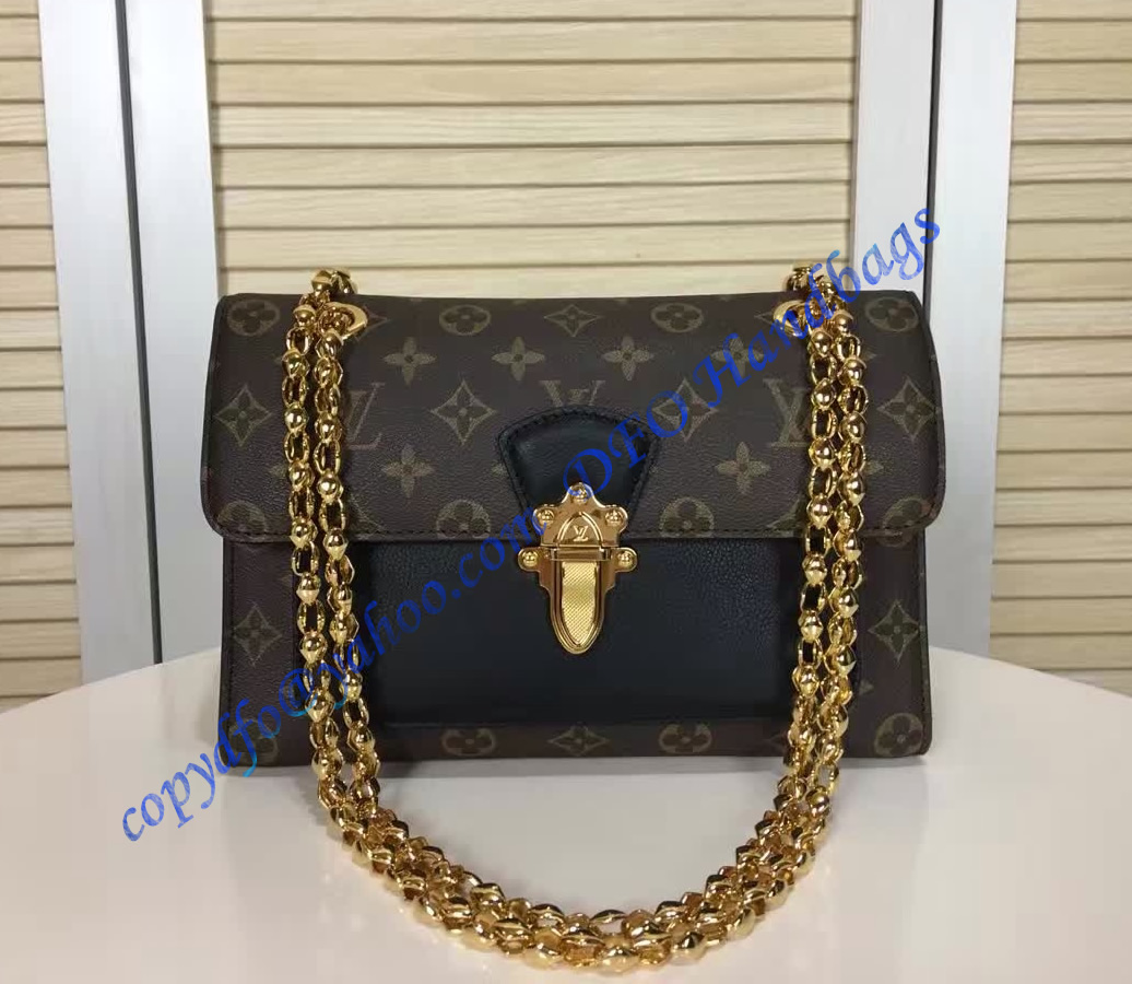 de36bf76d2 Louis Vuitton Monogram Canvas Victoire Black