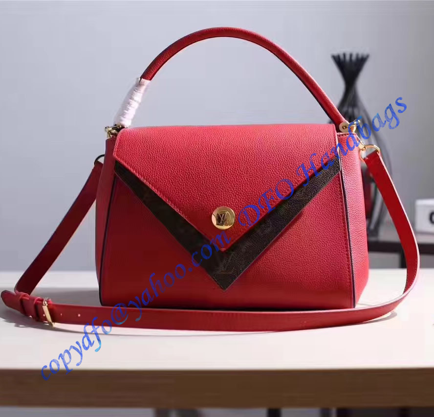 louis vuitton double v red m54624