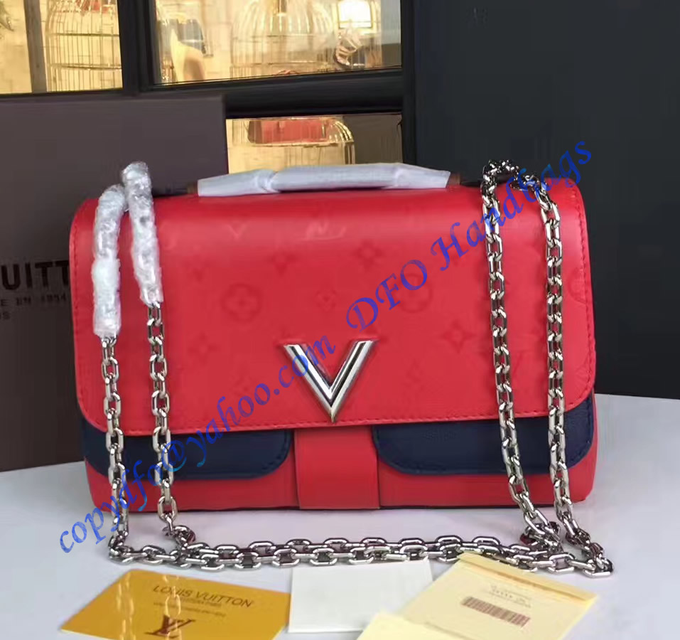 Louis Vuitton Very Chain Bag Rouge Rubis M42901 Luxtime